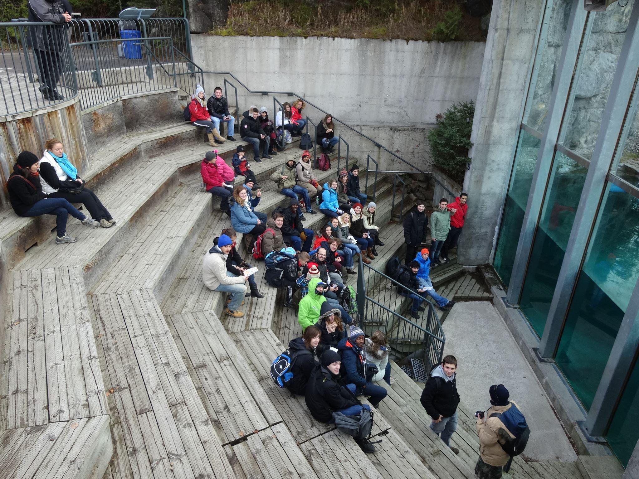 Sortie au Zoo de Saint Fécilien