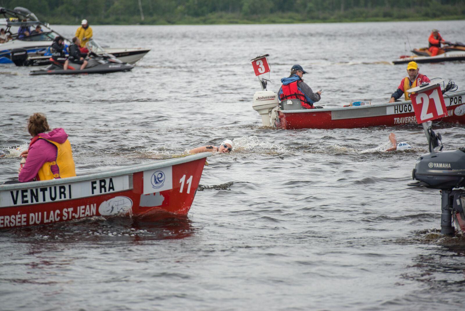 Crédit photo : Traversée internationale du lac St-Jean