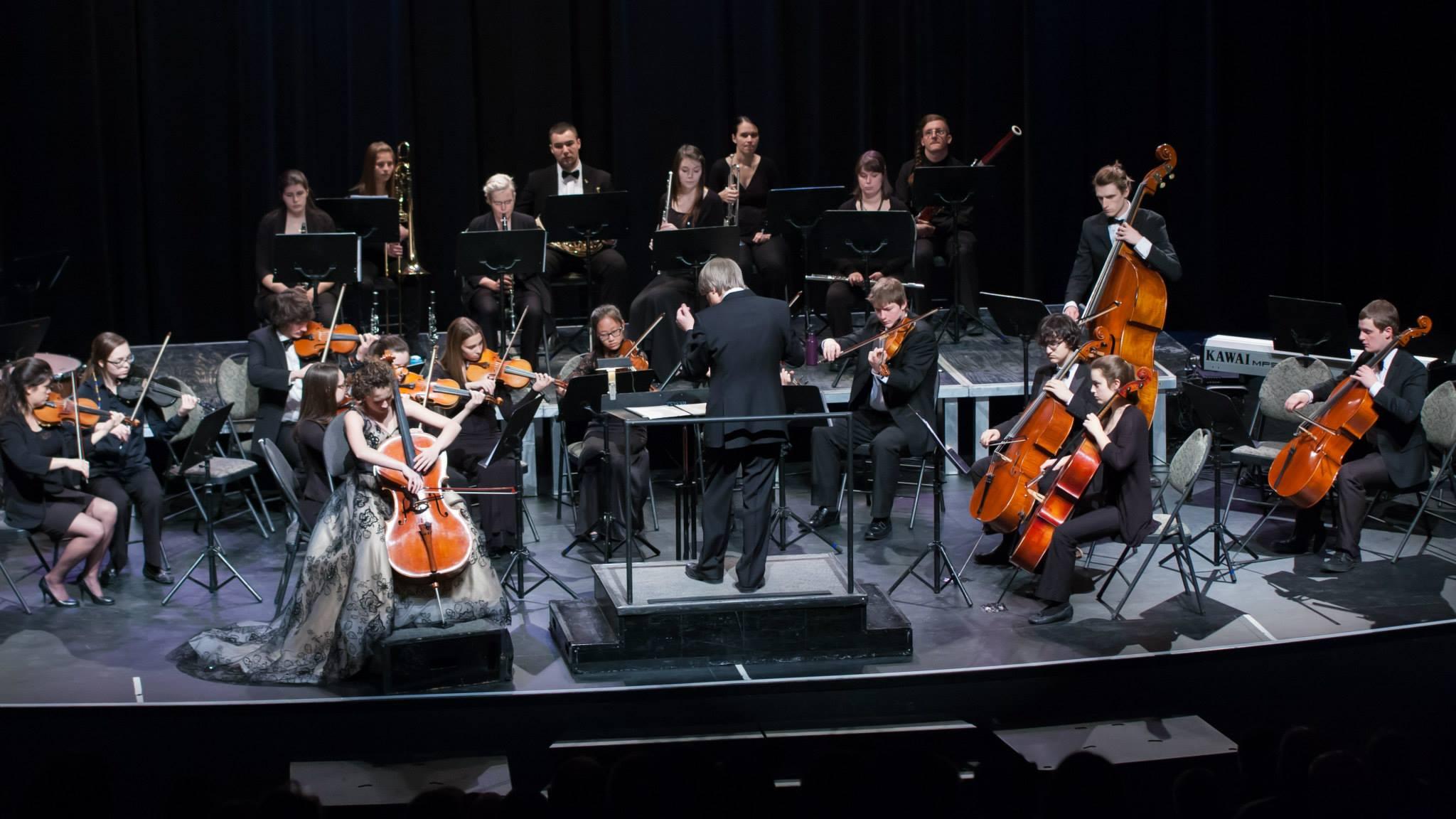 Orchestre des jeunes_Crédit photo Michel Baron