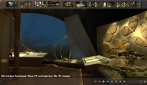 Boite rouge vif - Exposition virtuelle en 360°