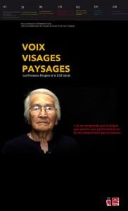 Boite rouge vif - Voix, visages, paysages. Les Premiers Peuples et le XXIe siècle