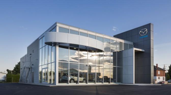 La Maison Mazda Saint-Félicien : Premier concessionnaire au Canada en structure bois