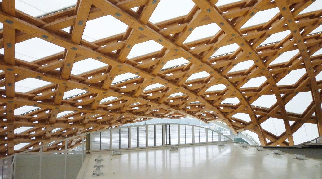 L architecture en bois du japon r seau espace bois for Architecture en bois
