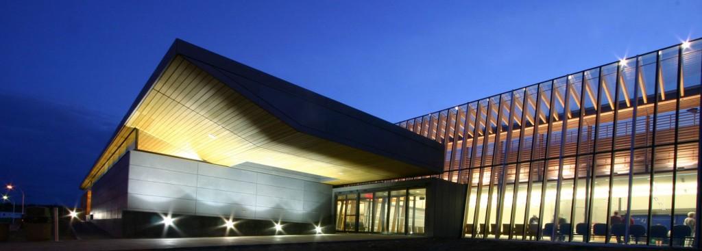 L'agrandissement de l'aéroport de Prince George a été primé à de multiples reprises. © MacFarlane Green Architecture