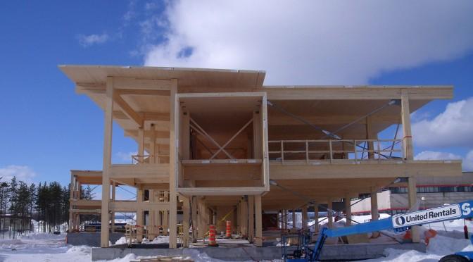 Le Pavillon Alouette de l'UQAC, un bâtiment durable exemplaire