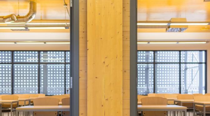 Les bénéfices du bois dans la construction d'écoles en Colombie-Britannique