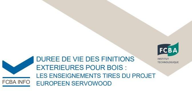 Durée de vie des finitions extérieures pour bois : les enseignements tirés du projet européen Servowood