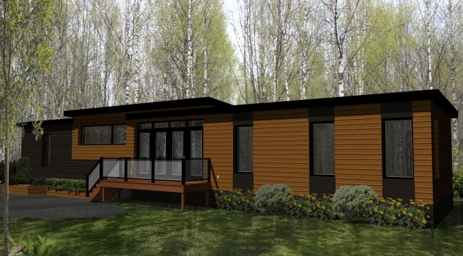 Investissement de plus de 60 000 $ pour une maison entièrement en bouleau