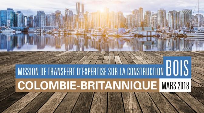 Mission de transfert d'expertise en Colombie-Britannique