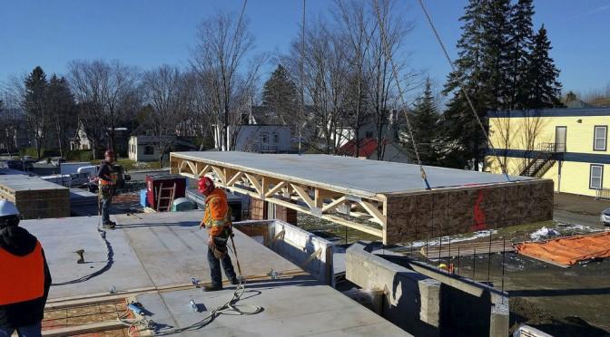 Des planchers de béton et de bois développés à Sherbrooke