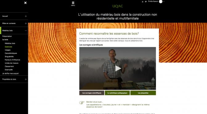 Formation en ligne sur l'utilisation du matériau bois dans la construction non résidentielle et multifamiliale