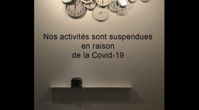 Suspension d'activités