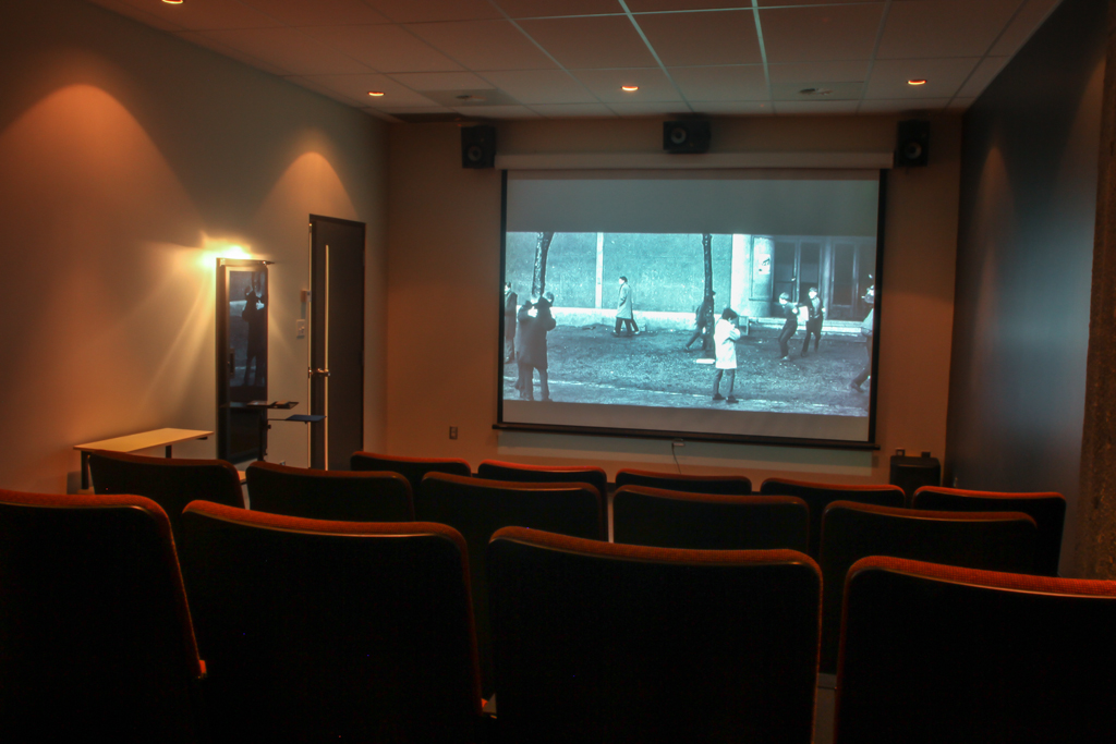 photo de la salle de projection