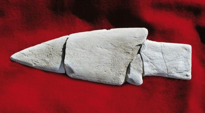 Pointe de la collection du Laboratoire d'archéologie de l'UQAC. L'archéologie, une formation des sciences humaines à l'UQAC