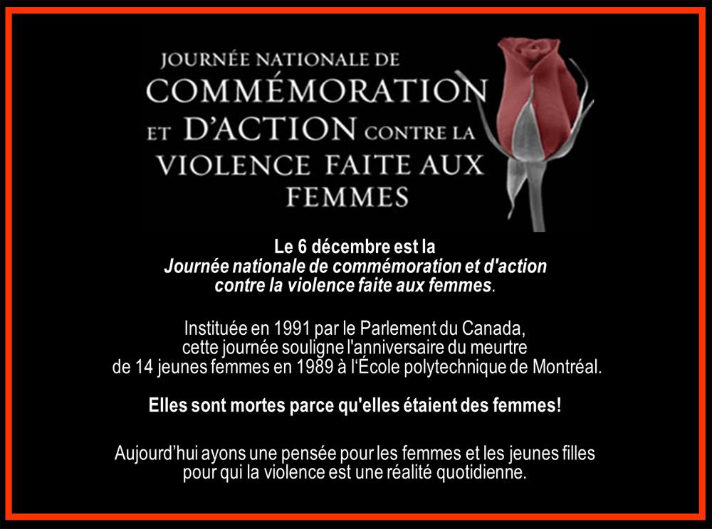 Journée contre la violence faite aux femmes
