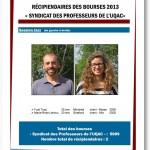 Bourse Camp Musical du Saguenay-Lac-Saint-Jean 2012-2013